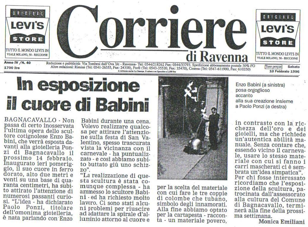 Cuore di Enzo Babini  San Valentino 1996