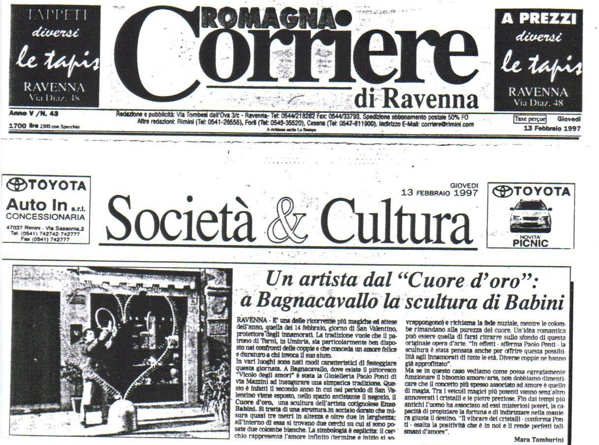 Cuore di Enzo Babini  San Valentino 1997