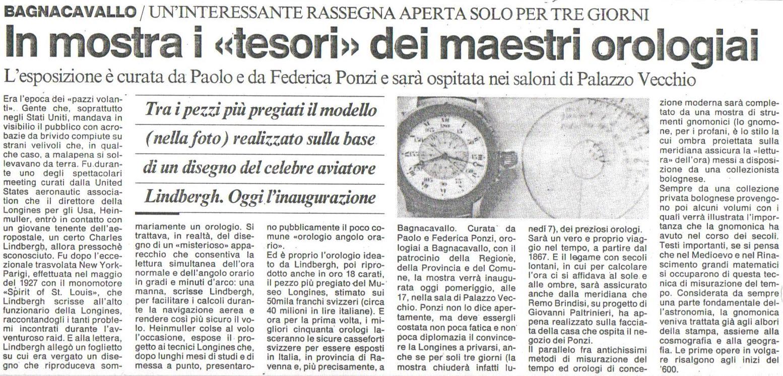 I Segni del Tempo  Meridiana di Remo Brindisi