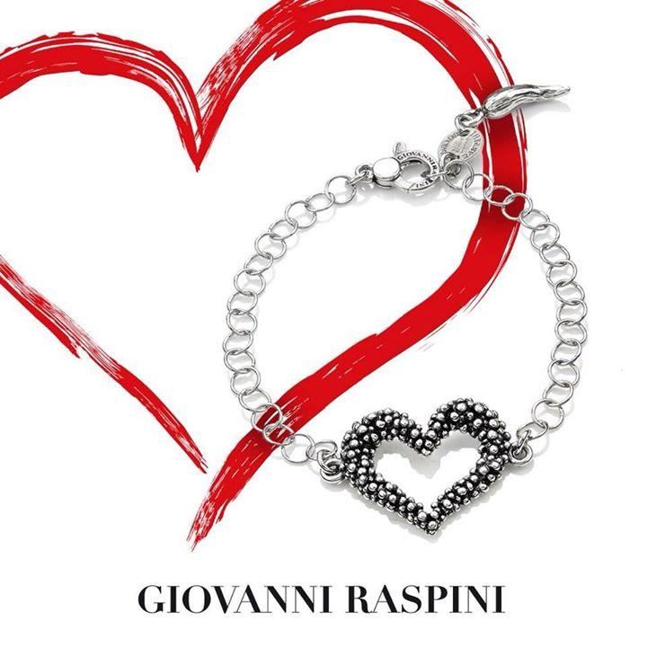 Bracciale cuore  #giovanniraspini  #argento  #bagnacavallo