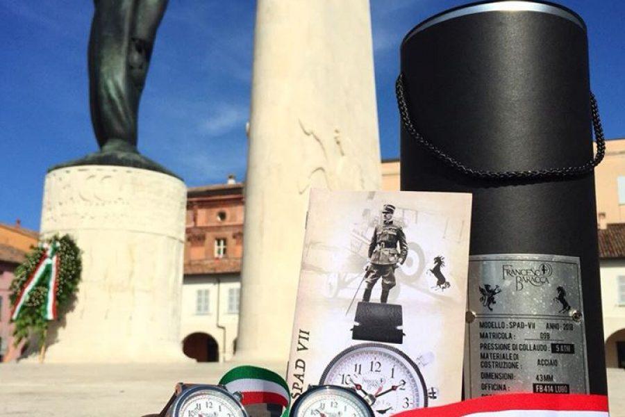 Orologio in edizione limitata ispirato al segnatempo dell'Eroe  #FrancescoBaracc…
