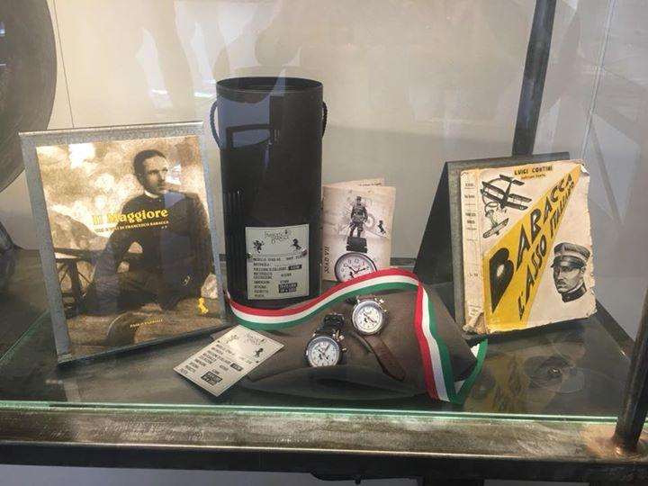 Nel rinnovato Museo Francesco Baracca a Lugo la vetrina dedicata all'orologio  S…