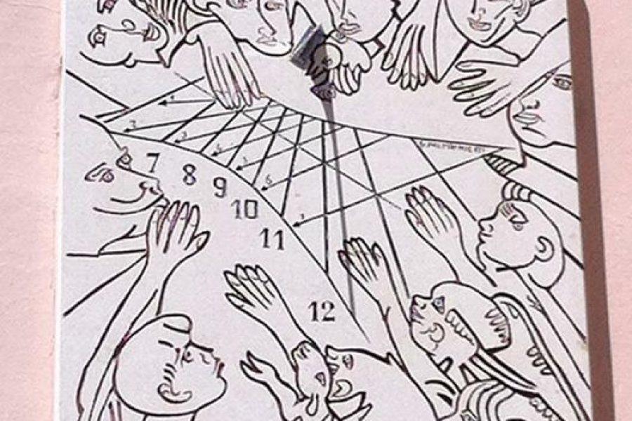 """Ci scusiamo per l'interruzione!!!!! Il nostro orologio solare ad ore """"babilonich…"""
