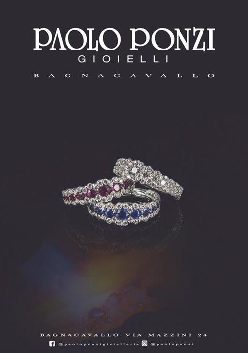 """Collezione """" Eternelle color """" diamanti zaffiri e rubini fatto a mano solo a Bag…"""